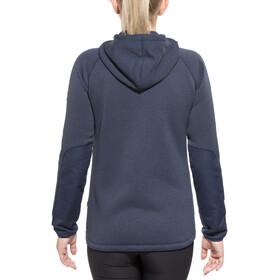 Fjällräven Övik Sweat à capuche en polaire Femme, navy